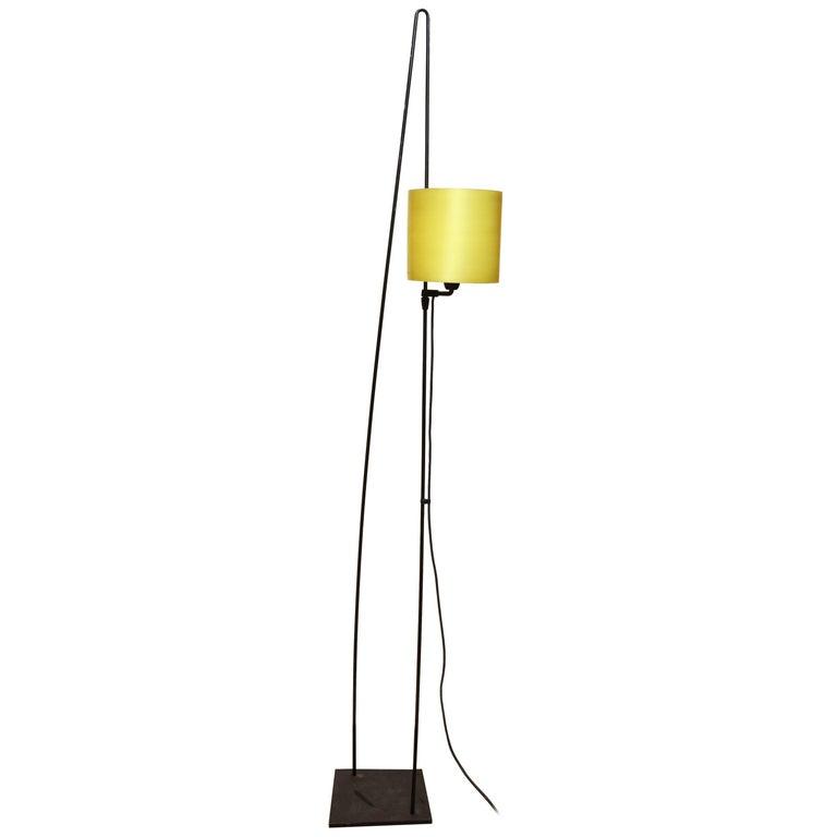 Italiana Luce Floor Lamp Mid-Century Modern Ion and Plexiglass, Italy, 1970 For Sale