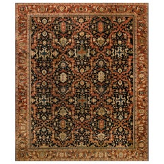 Vintage Persian Sultanabad Carpet
