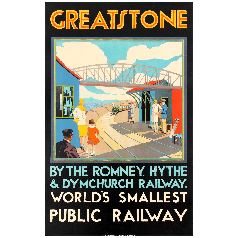 Pennsylvania Railroad Nation United States America Travel Advertisement Poster