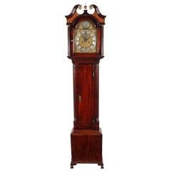 Georgian Scottish Grandfather Clock