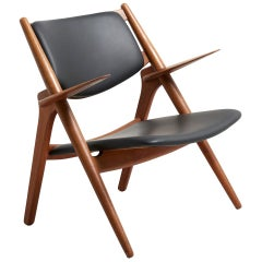 CH28 Sawbuck Easyin Oak by Hans Wegner for Carl Hansen