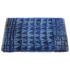 1970 Danish Midcentury Wool Rug by Nordiska Industri