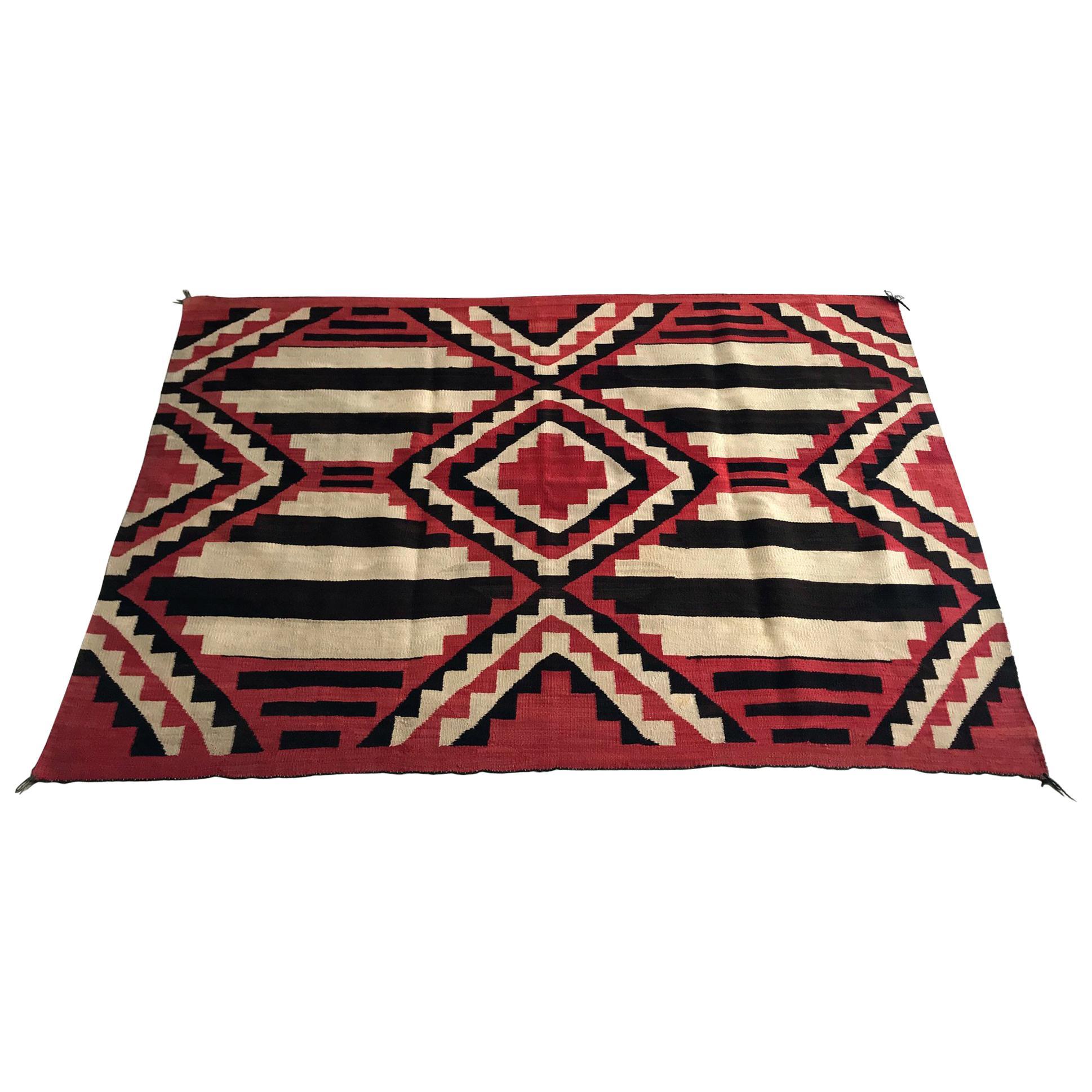 Antique Navajo Chief Blanket