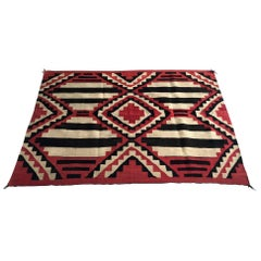 Antique Navajo Chief Blanket