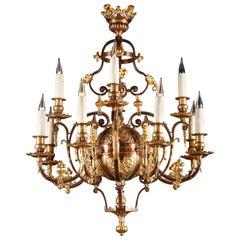 Elegant Oriental Style Chandelier