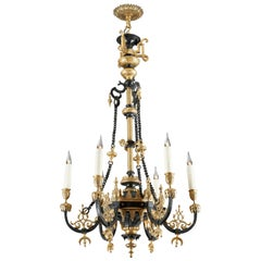 Beautiful Ottoman Style Chandelier Attributed to F. Barbedienne