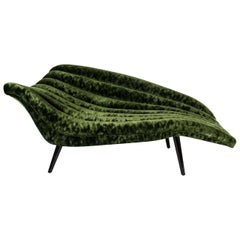 Elegant Hans Hartl Chaise Longue