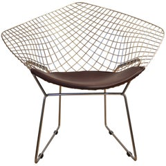 Diamond Chair Designed by Harry Bertoia, USA, 1950s