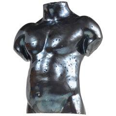 Leben Größe Keramik männliche Büste von Künstler S Porter, ca. 1985