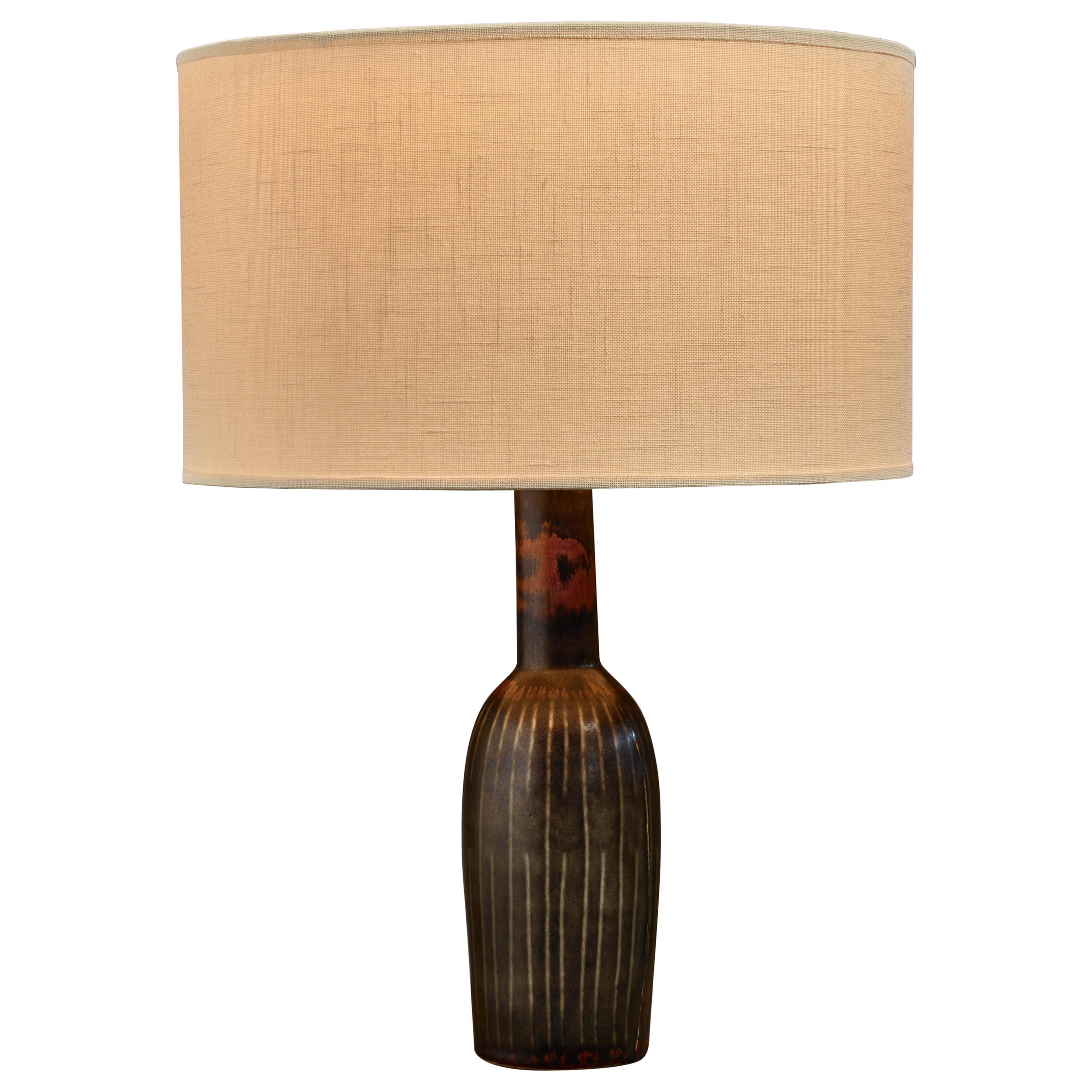 Carl-Harry Stålhane Ceramic Table Lamp