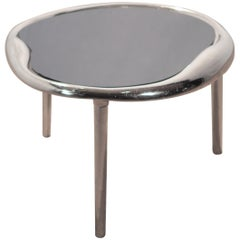 Modern Chrome End Table Style of Maria Pergay, 1980s