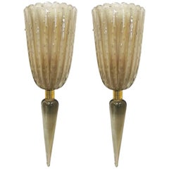 Pair of Fiaccola Sconces by Fabio Ltd