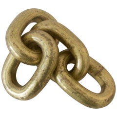 "Paperweight ""Chain"" by Carl Auböck"