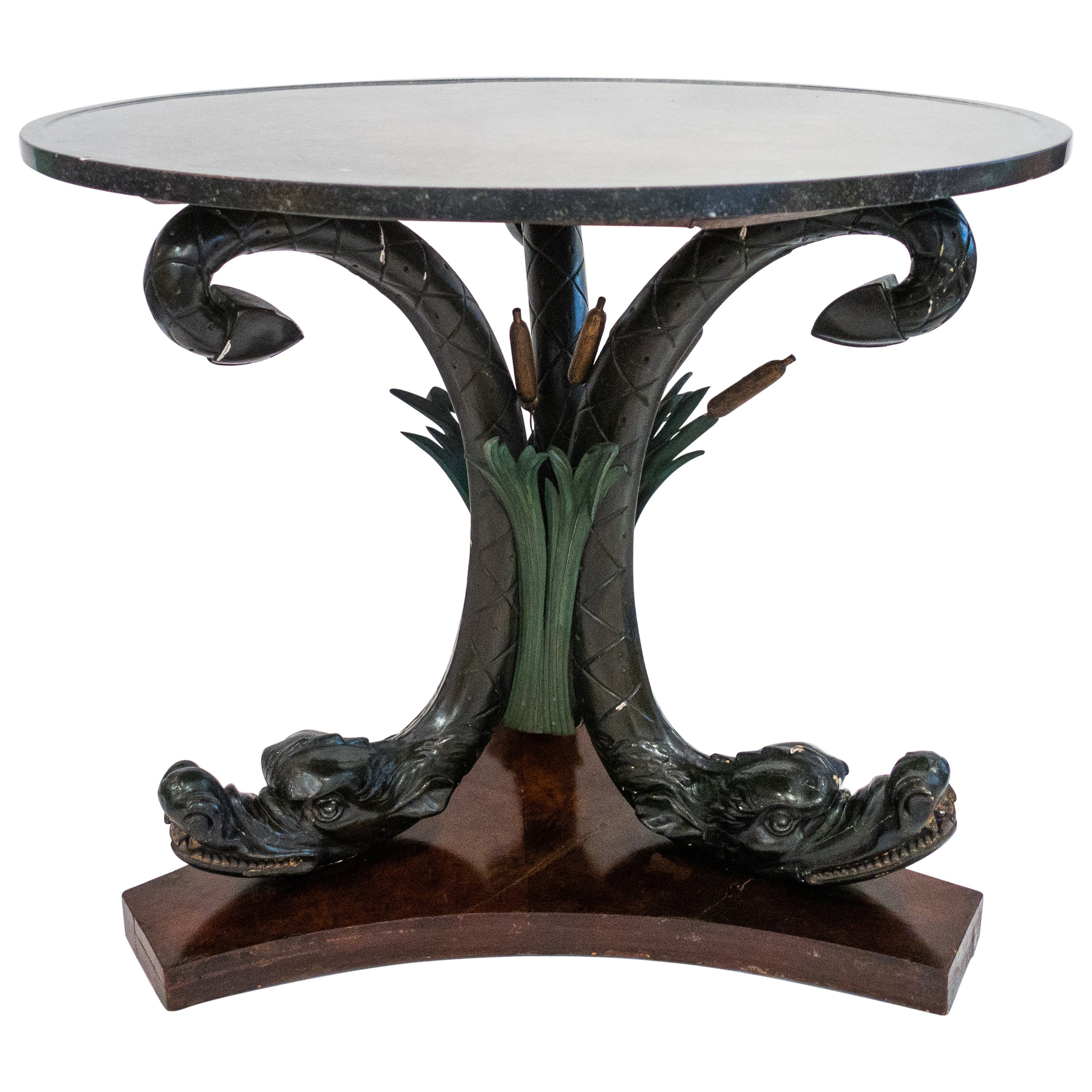 Austrian Neoclassical Center Table, Late 19th Century