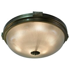 Set of Three Flush Mount Light Fixture by Atelier Petitot