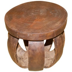 Andrianna Shamaris African Side Table or Stool