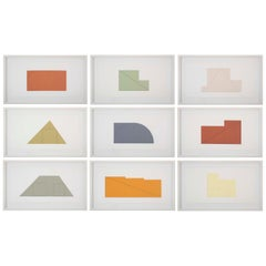 Complete Portfolio of Prints-Multiple Panel Paint 1973-1976, Edition B by Robert