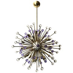 Clear and Purple Burst Sputnik by Fabio Ltd