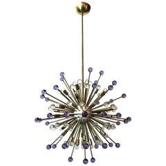 Two Purple and Clear Burst Sputniks by Fabio Ltd