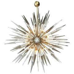 Two Sole Sputnik Chandeliers by Fabio Ltd