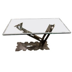 Contemporary Modern Sculptural Studio Console Table, 21st Century