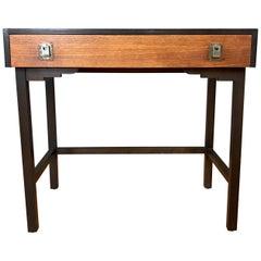Mid-Century Modern Japanese Elm Vanity or Desk