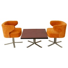 Mid-Century Modern Seating Set by Gianni Moscatelli for Formanova, Italy, 1970s