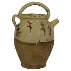 French 19th Century, Terracotta Jug/Water Cruche