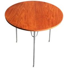 Edmund Jorgensen Teak Seite Tisch, Dänemark, 1960er Jahre