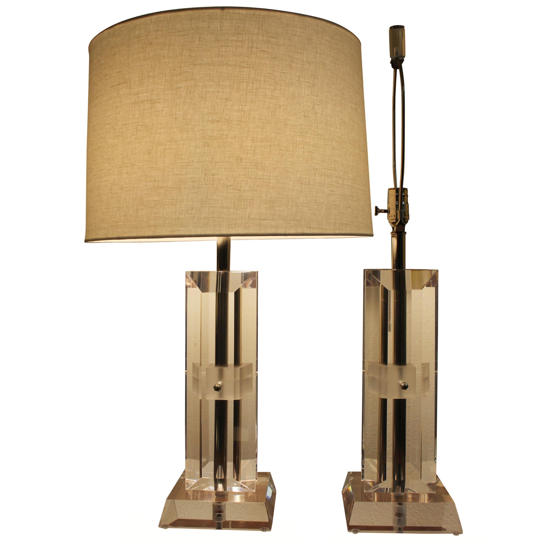 Acrylic Table Lamp for sale | eBay