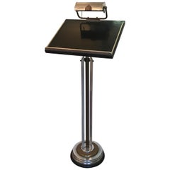 Art Deco Lectern with Light