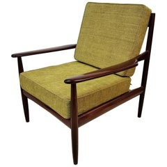 Midcentury Danish Teak Lounge Chair by Grete Jalk