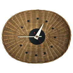 'Basket' Wall Clock by George Nelson and Irving Harper for Howard Miller