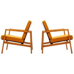 Lewis Butler Pair of Lounge Chairs