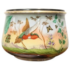 20th Century Art Nouveau Hand Painted Ceramic Vase, 1920s