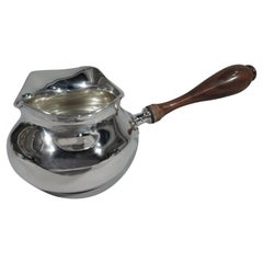 Large American Sterling Silver Pipkin