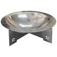 Silver Plated Bowl by Charles Gwathmey and Robert Siegel