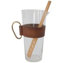 Pitcher with a Bamboo Muddler