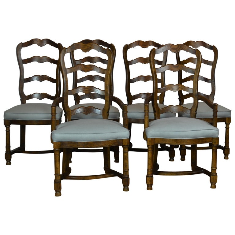 Ladder Back Dining Chairs For Sale