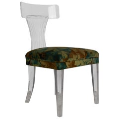 Lucite Accent Chair