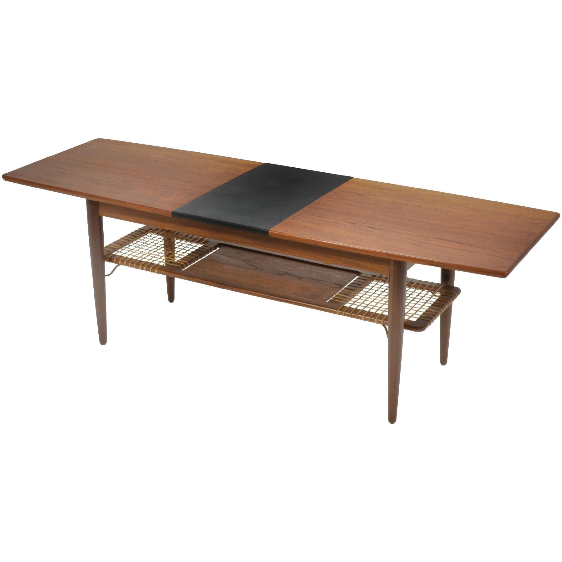 Danish Teak Extension Coffee Table