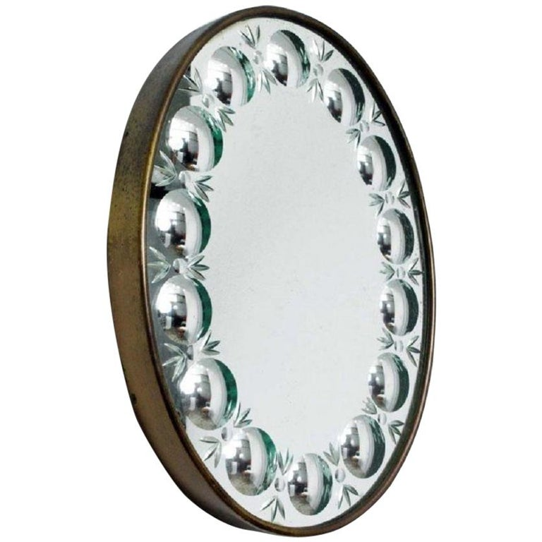 Piero Fornasetti Mirror For Sale