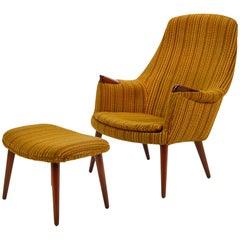 Gerhard Berg Lounge Chair and Ottoman
