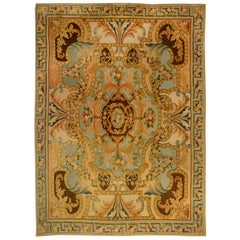 Traditional Savonnerie Inspired High or Low Rug