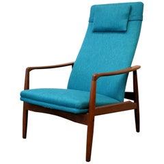 Vintage Søren Ladefoged Teak Lounge Chair