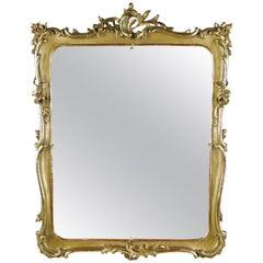 Golden Biedermeier Mirror, Austria, circa 1850