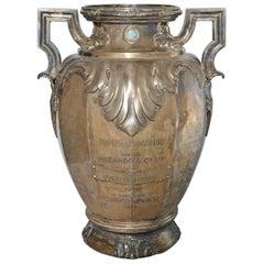 """Massive 7kg Silber Vase Pokal/Cup """"Tiro Federal Argentino"""" 1916-1939, Markenzeichen"""