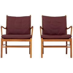 Set of Two Colonial Chairs by Ole Wanscher