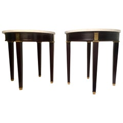 Pair of 20th Century Neoclassical End Tables