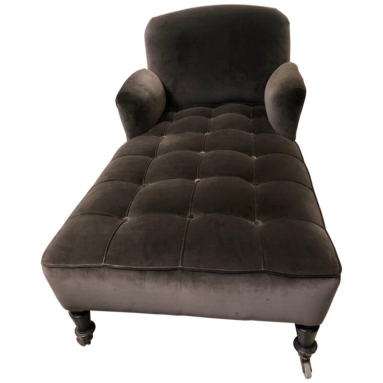 19th Century French Chaise Lounge For Sale